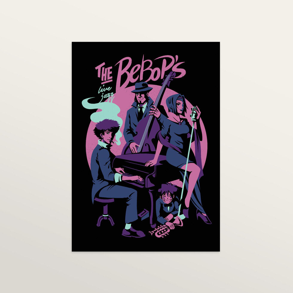 The Bebops - Art Print - large A2 print only