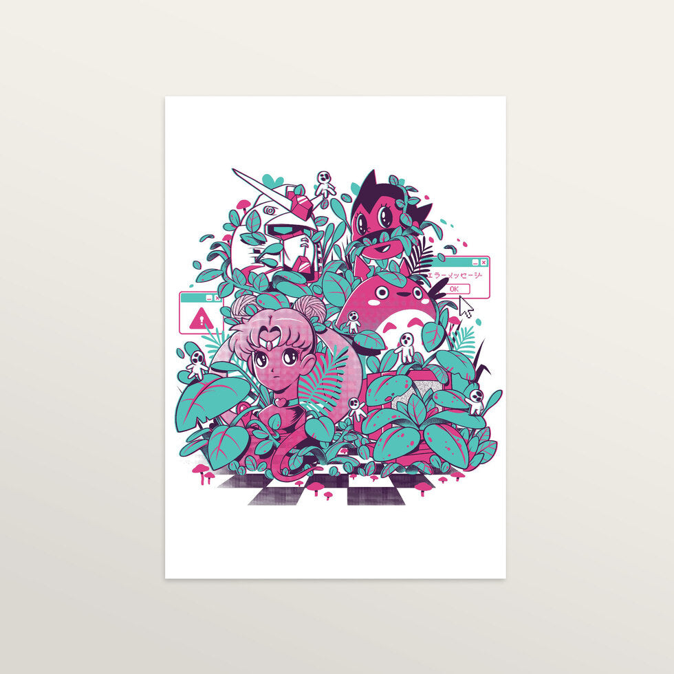 Animewave - Art Print - large A2 print only