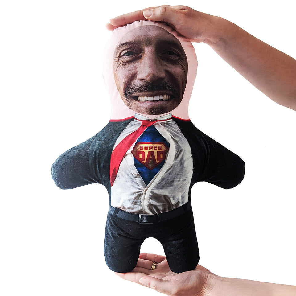 Mini Me Super Dad - Personalised Doll - Skin Tone A