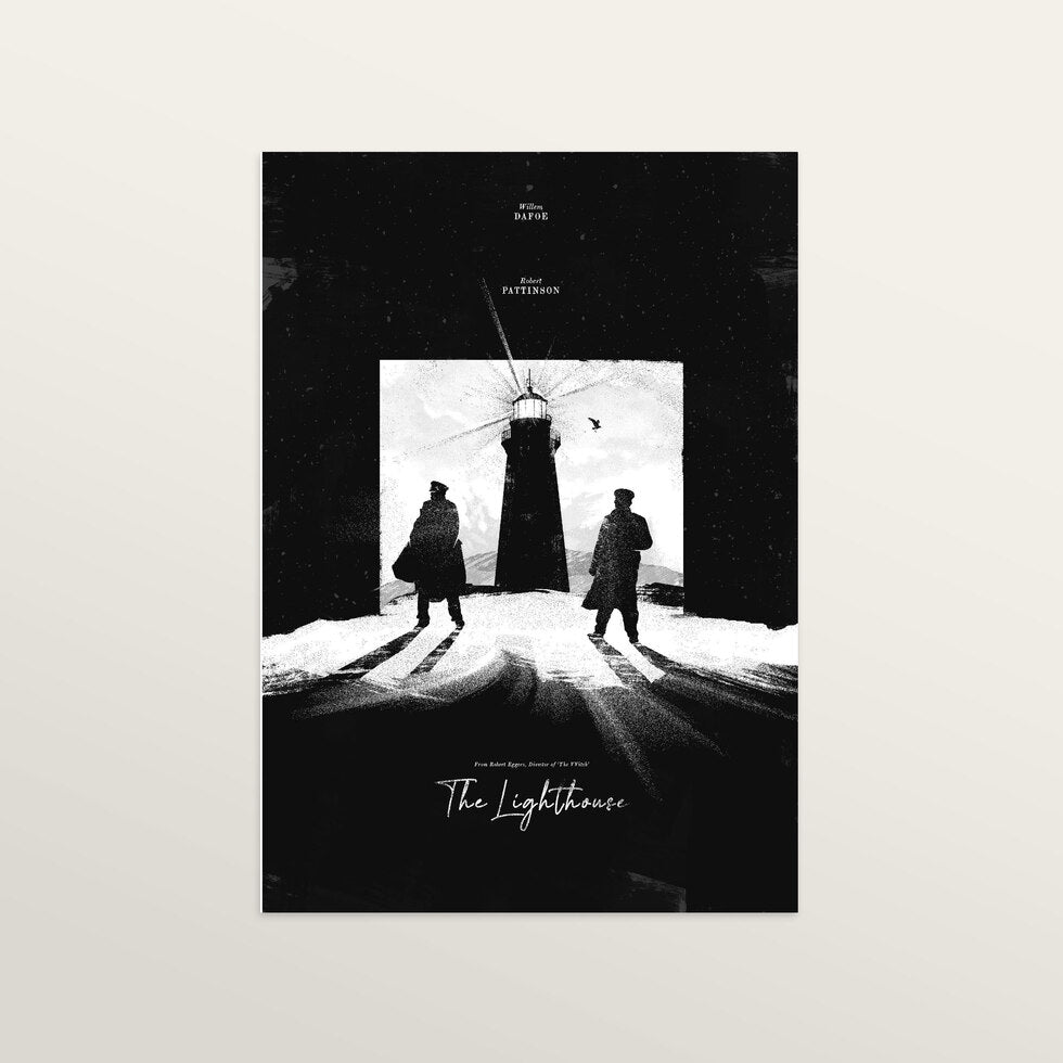 The Lighthouse - Art Print - large A2 print only