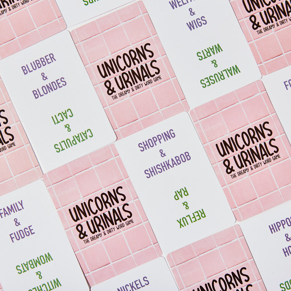 Unicorns and Urinals: Dirty Word Game