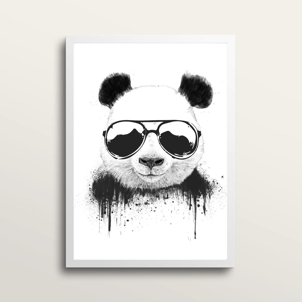 Stay Cool - Art Print - in medium A3 white frame