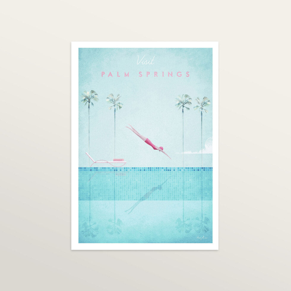 Palm Springs - Art Print - large A2 print only