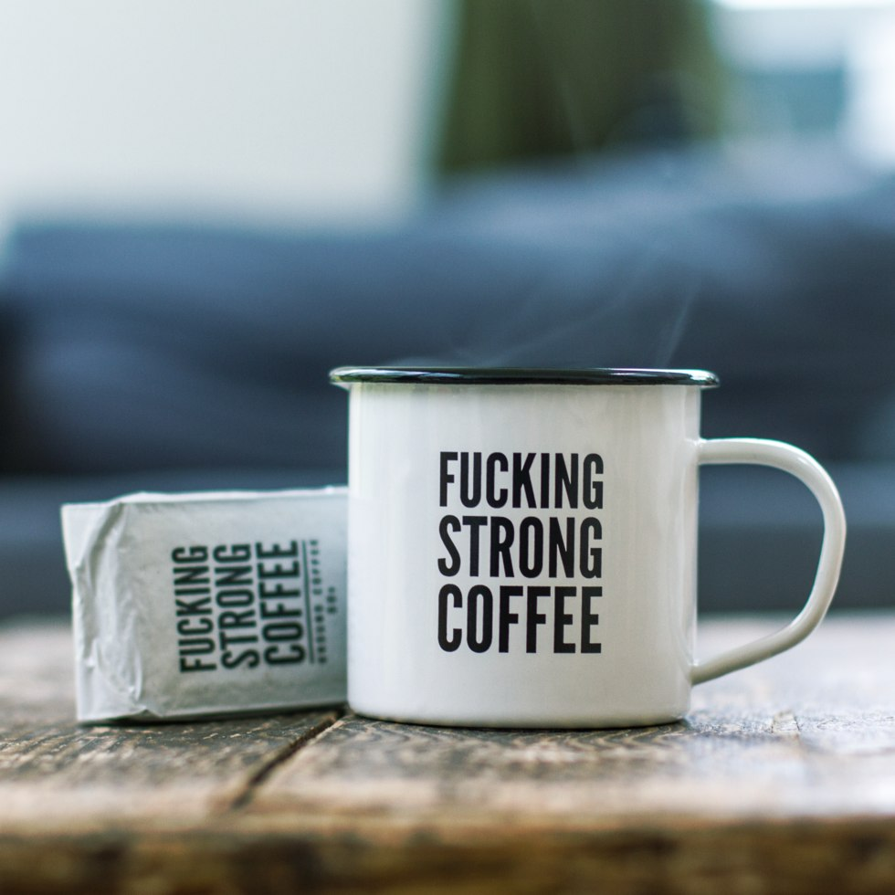 F*cking Strong Coffee & Mug Set