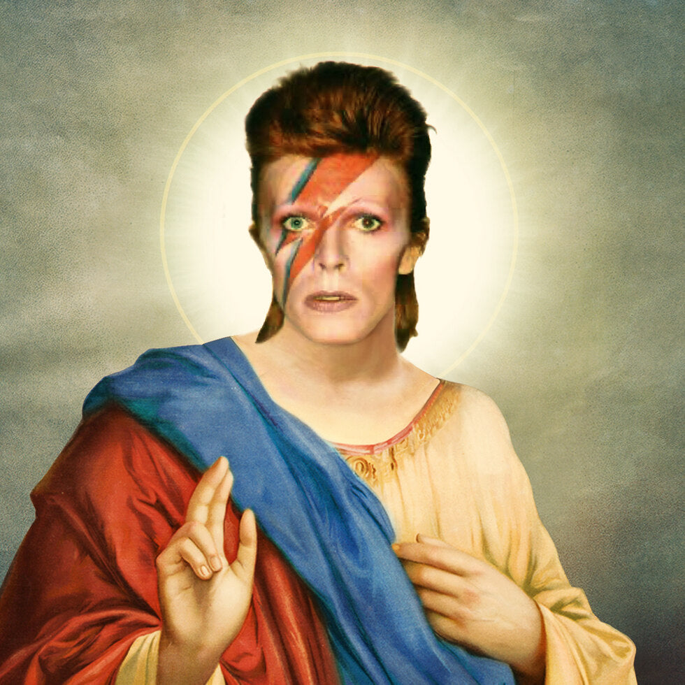 Celebrity Prayer Candles - David Bowie