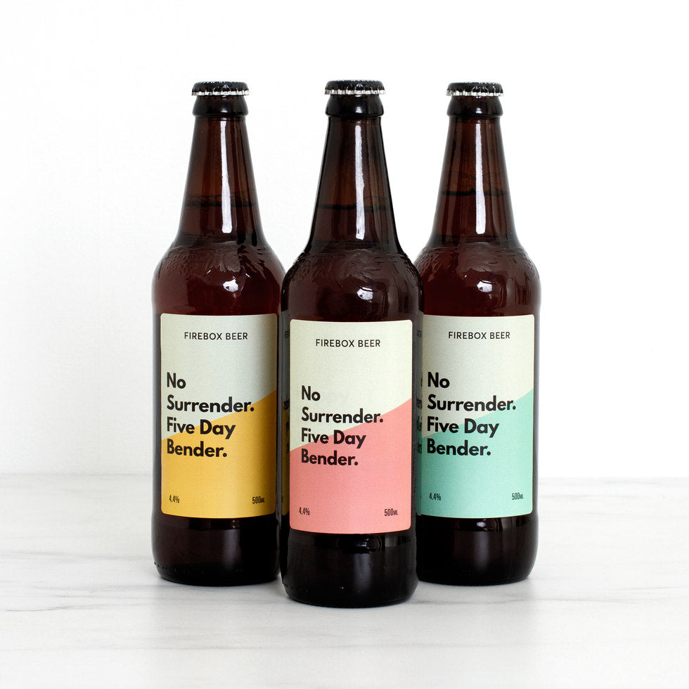 Personalised Beer Trio