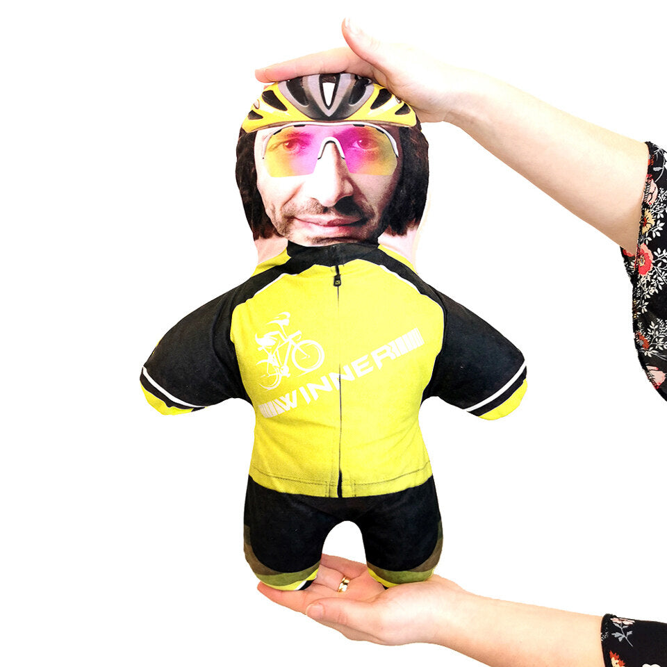 Mini Me Cyclist - Personalised Doll