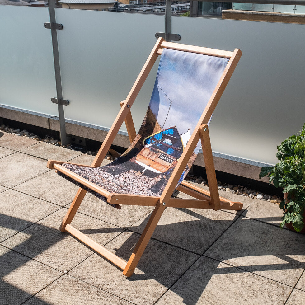 Personalised Photo Upload Deck Chair