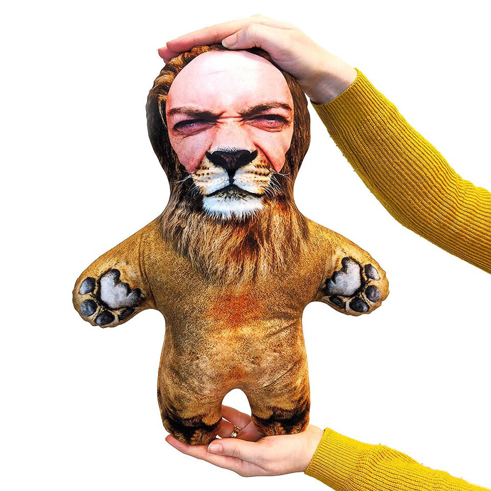 Mini Me Lion - Personalised Doll