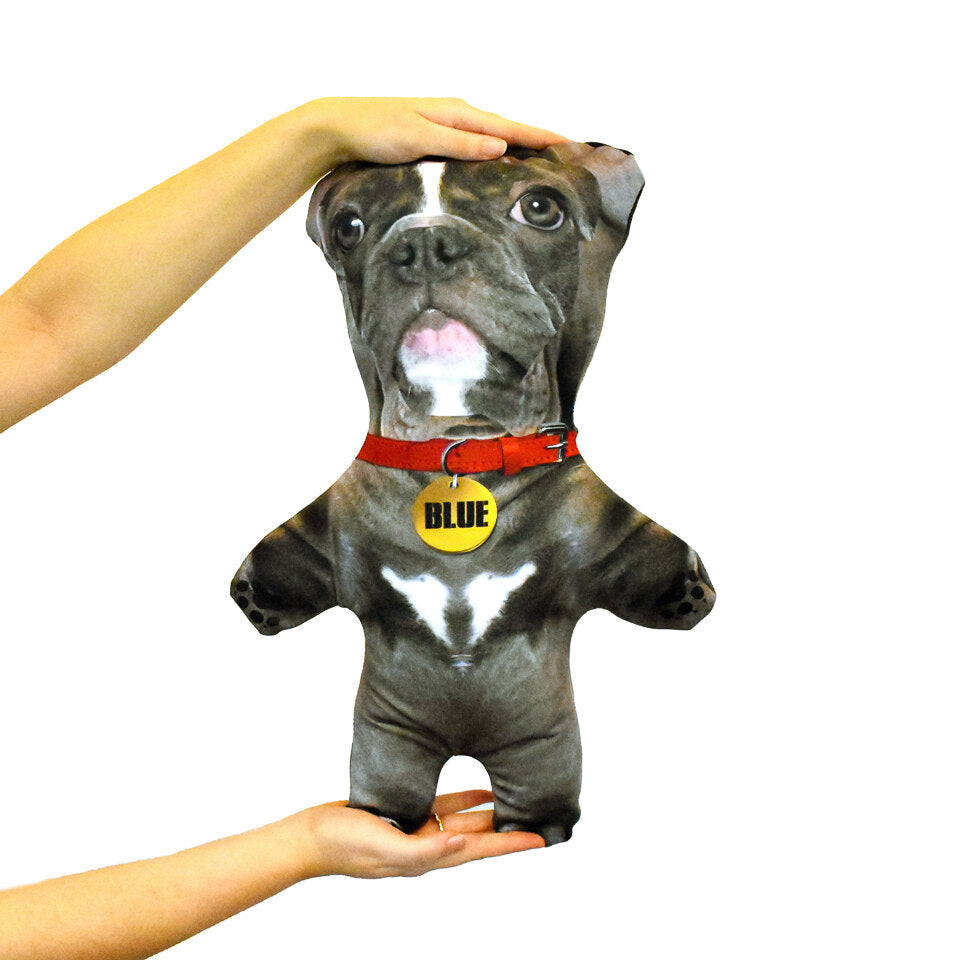 Pet Mini Me Grey Dog - Personalised Dog