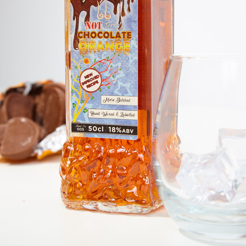 Not Terry's Chocolate Orange Gin Liqueur