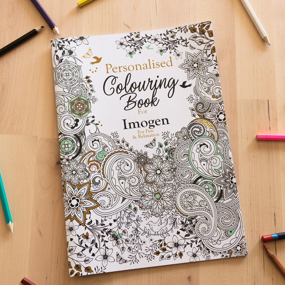 Personalised Colouring Books - Botanical
