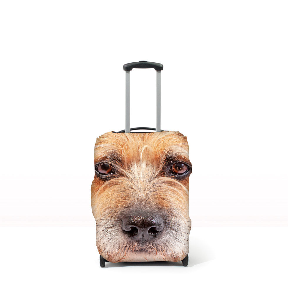 Pet Head Case – Personalised Pet Luggage Cover - M (Cases 64-76cm tall)