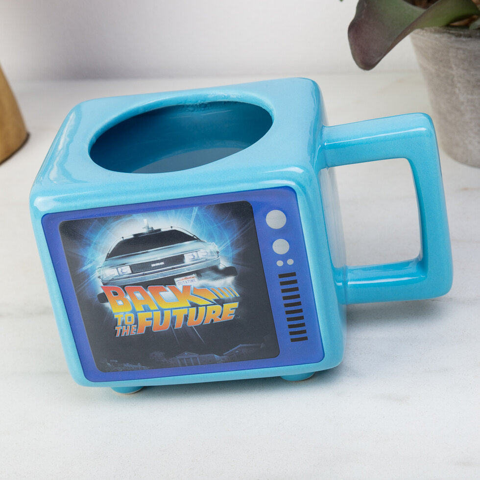 Back To The Future Heat Changing Mug