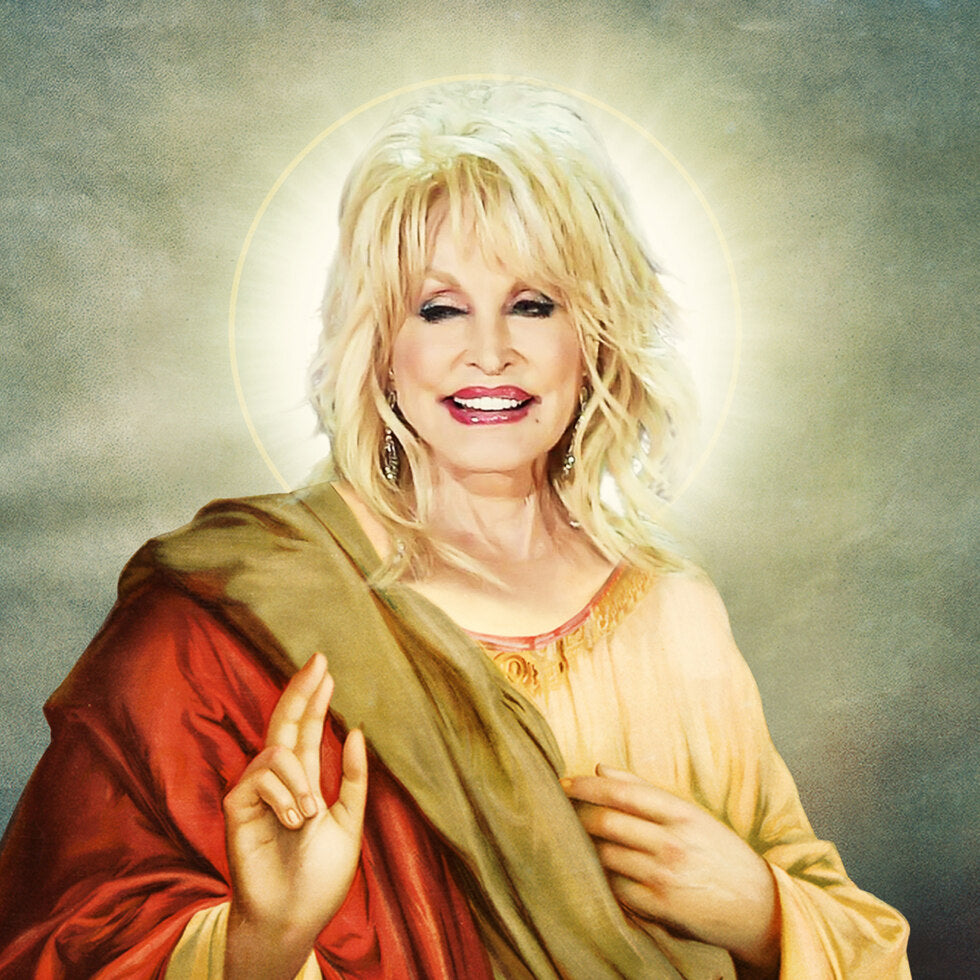 Celebrity Prayer Candles - Dolly Parton