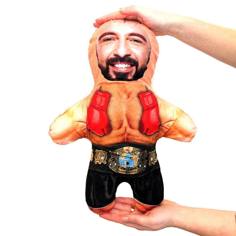 Mini Me Boxer - Personalised Doll