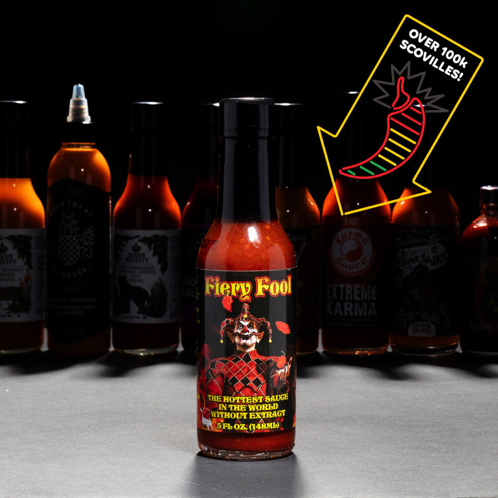 Hellfire: Fiery Fool Hot Sauce