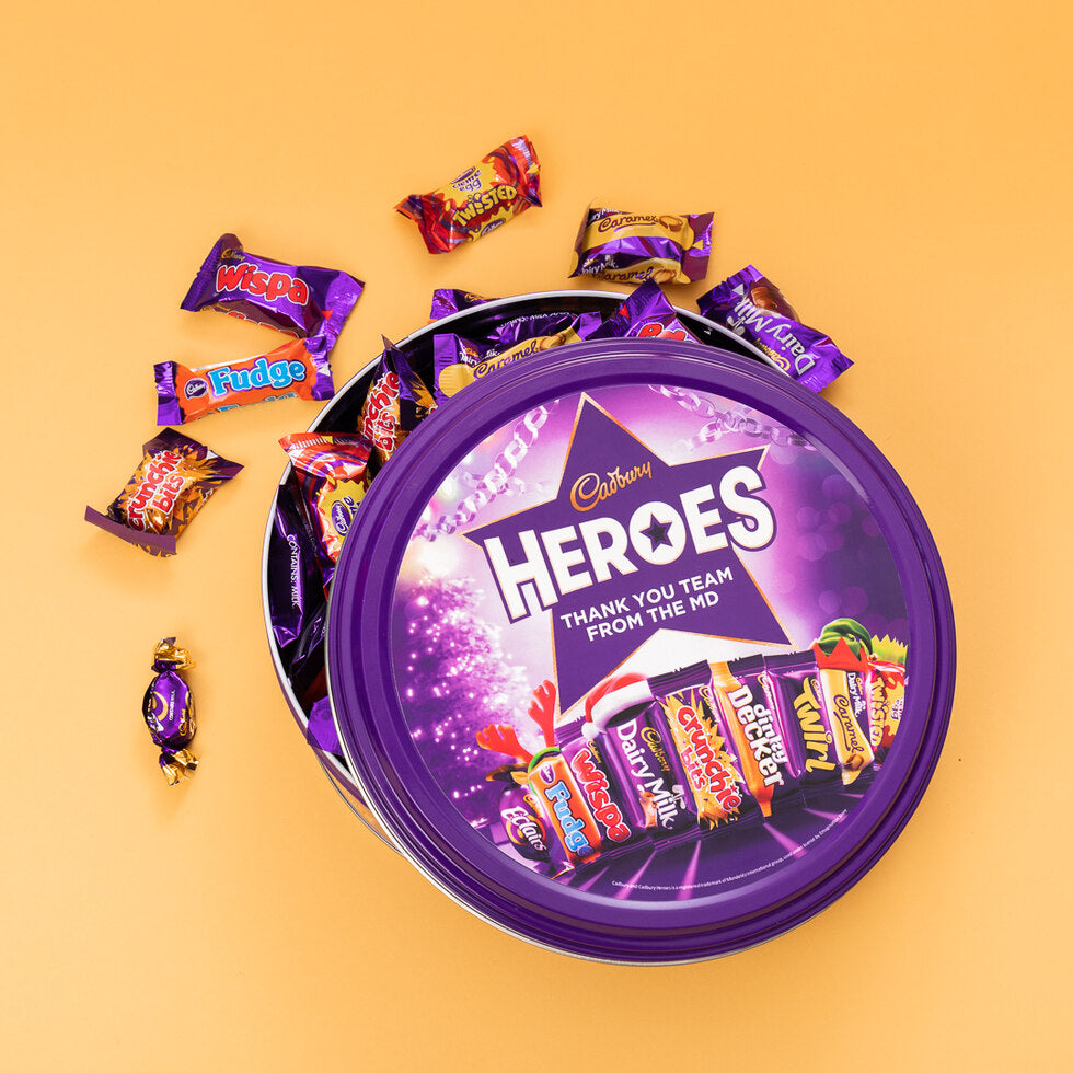 Personalised Cadbury Miniature Heroes Tin