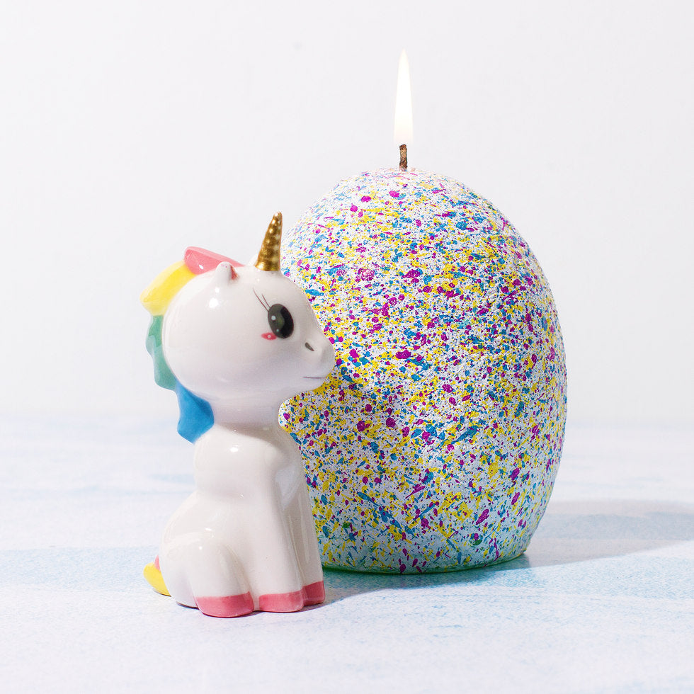 Hatching Unicorn Candle