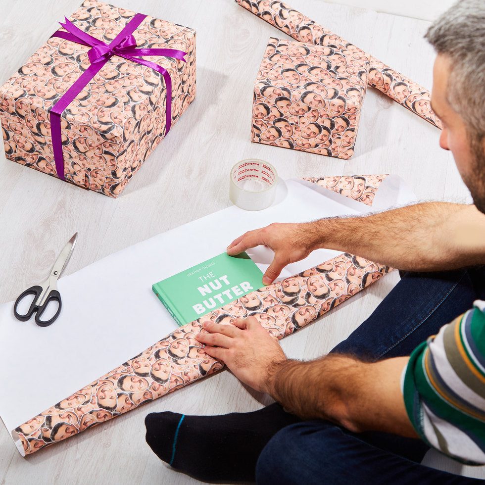 Face Wrap - Personalised Gift Wrap