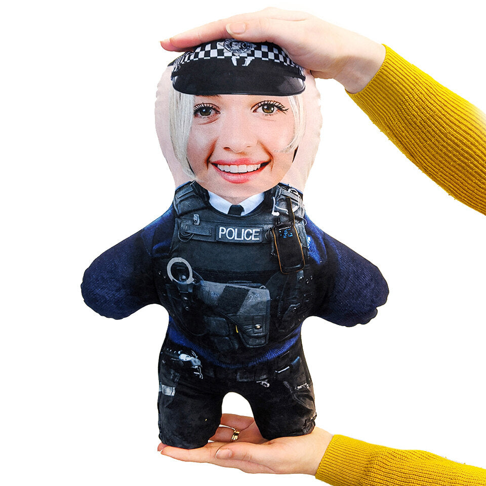 Mini Me Police Woman - Personalised Doll