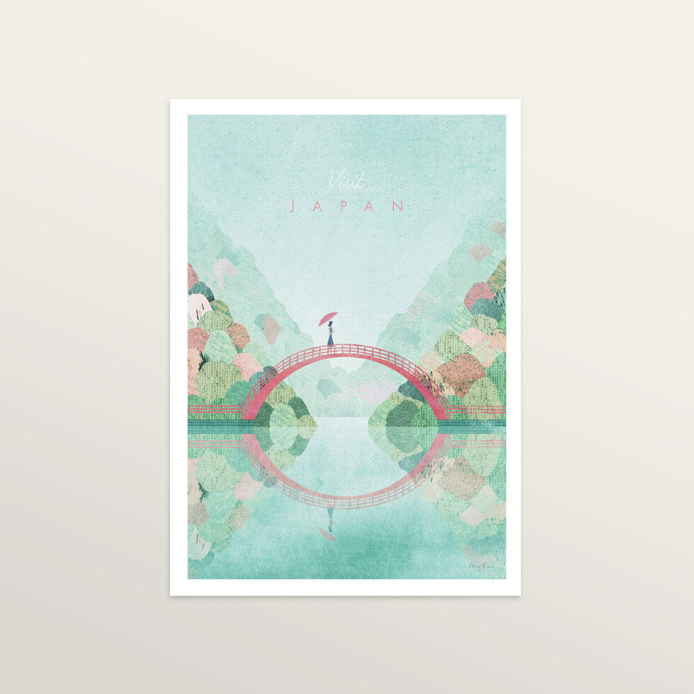 Japan 2 - Art Print - medium A3 print only