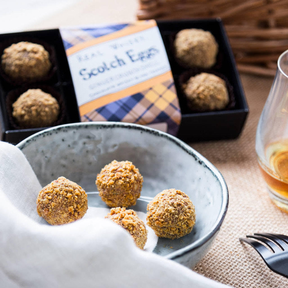 Real Whisky Scotch Eggs Truffles