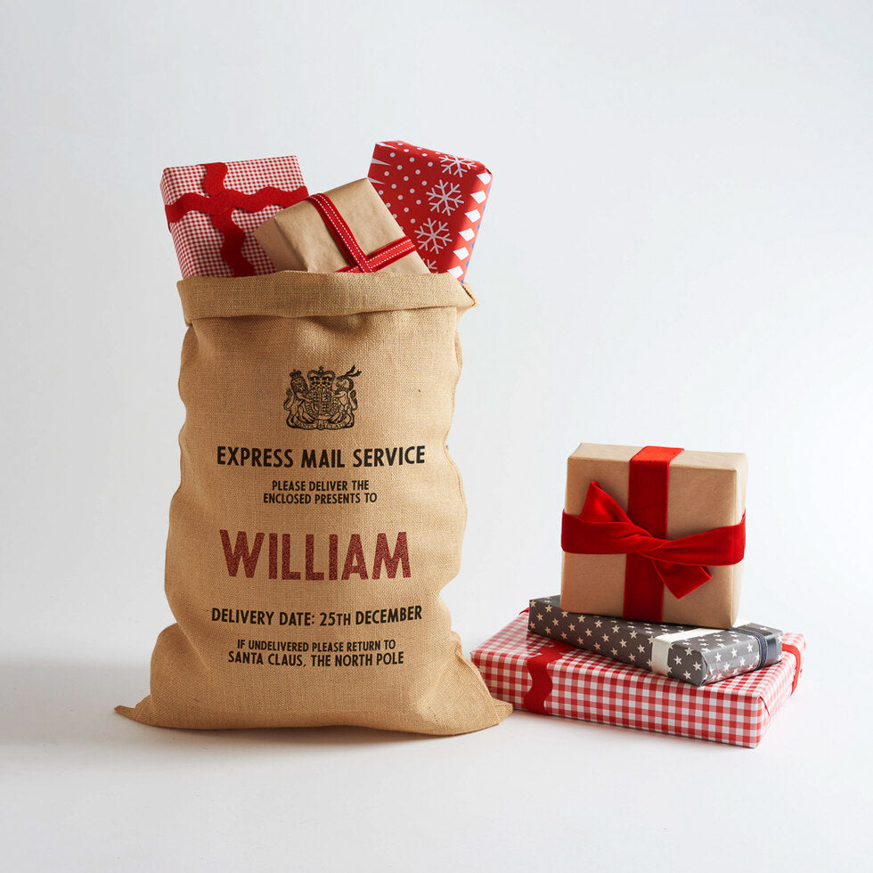 Make Your Own Personalised Santa Sack