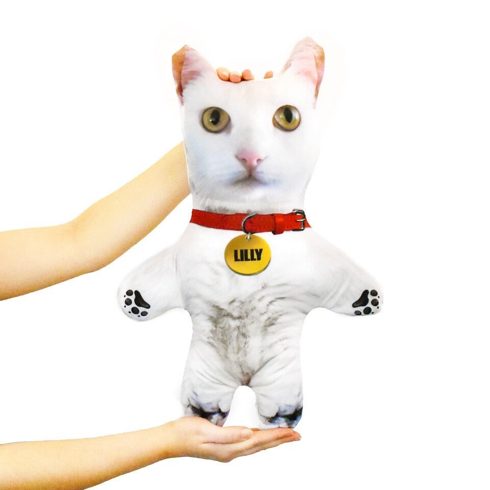 Pet Mini Me White Cat - Personalised Doll