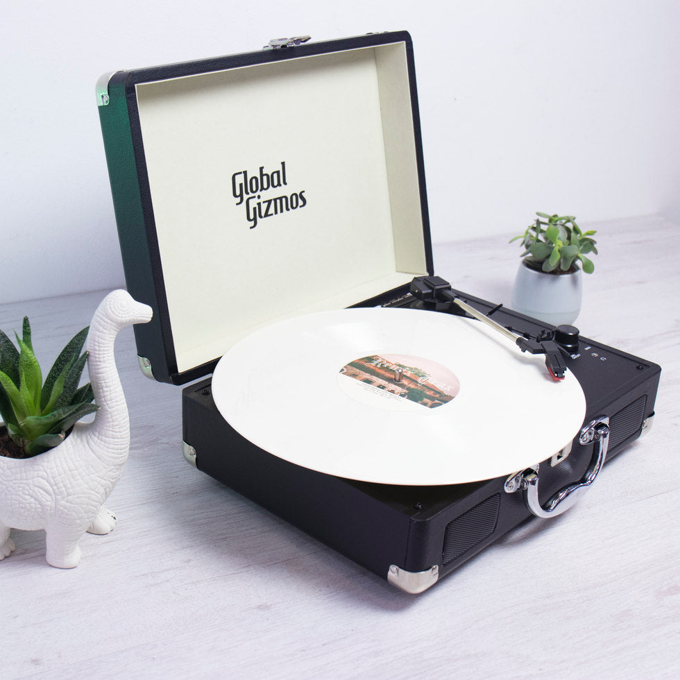 Retro Briefcase Turntable