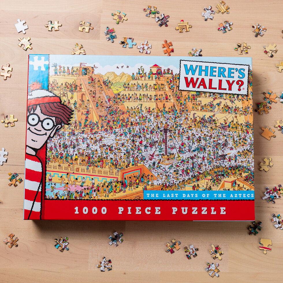 Where's Wally Jigsaw Puzzles - Aztec
