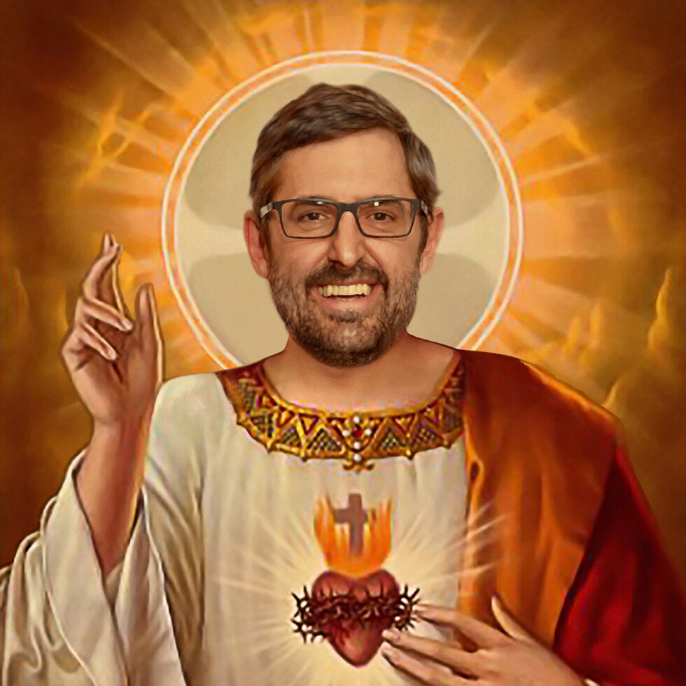 Celebrity Prayer Candles - Louis Theroux