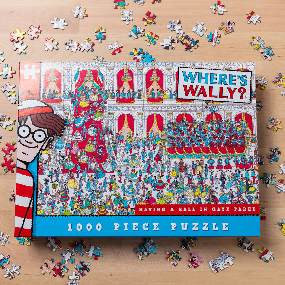 Where's Wally Jigsaw Puzzles - Gaye Paree