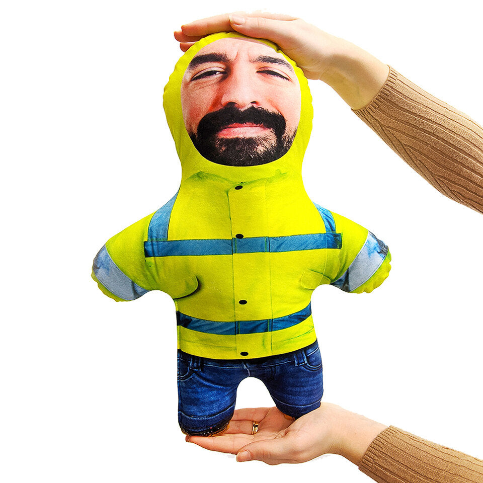 Mini Me Hi Vis - Personalised Doll