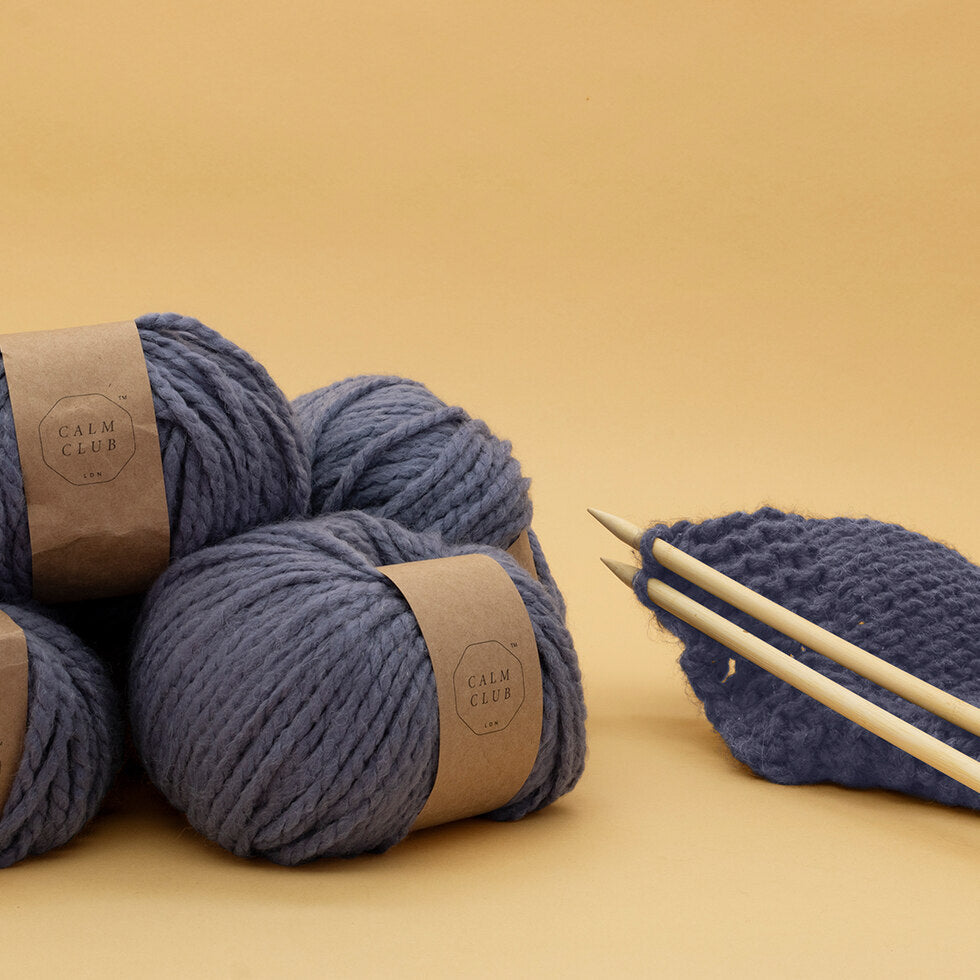 Calm Club Knit Your Own Comfort Blanket
