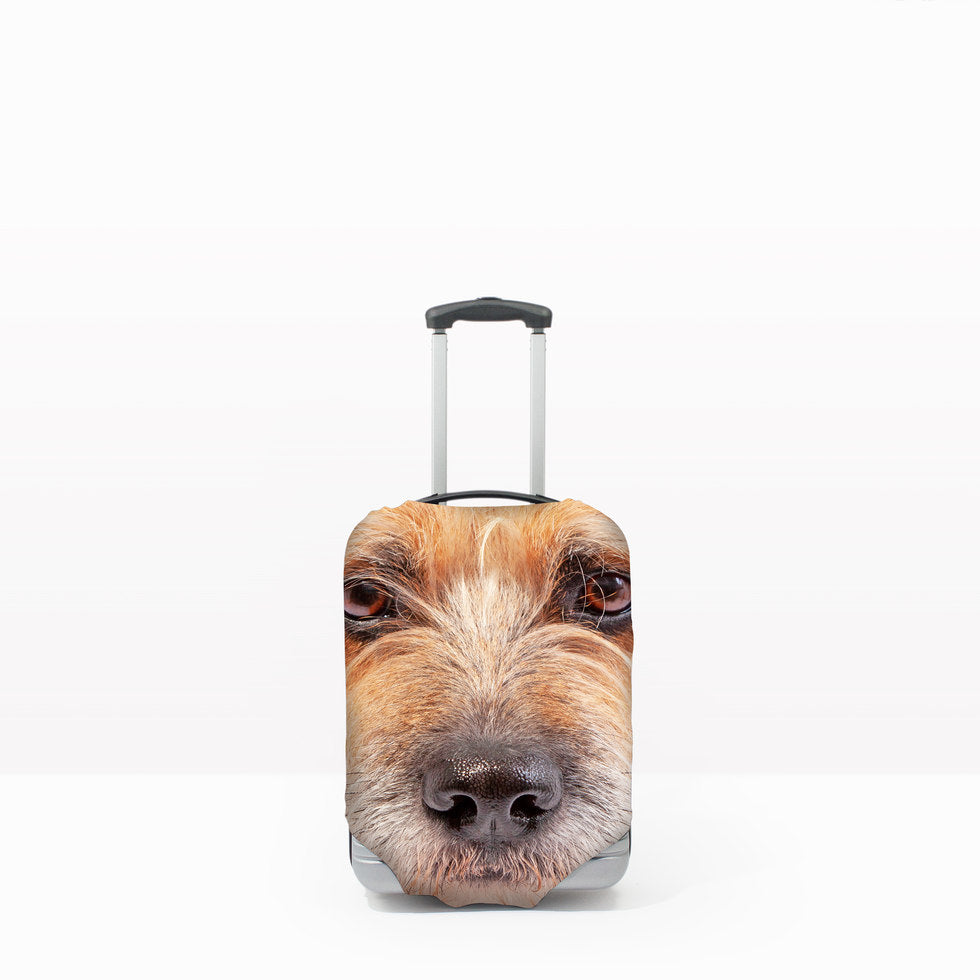 Pet Head Case – Personalised Pet Luggage Cover - S - (Cases 45-56cm tall)
