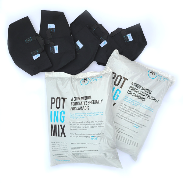POT-ING Mix | Soil Kit for Cannabis