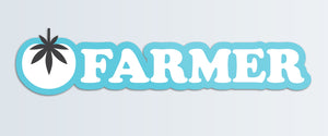 Tomato Farmer Sticker