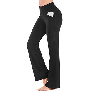 new list 2019 best sell shoes for cheap Yoga Pants 4 Pockets Work Pants for Women