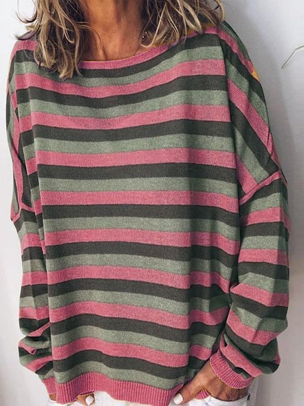 Regular Long Sleeve Round Neck Sweater
