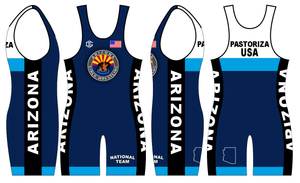 Blue Freestyle Singlet ONLY (1 total)