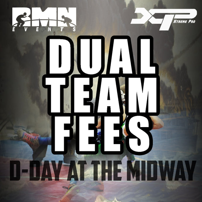 D-Day All Girls Duals Team Fees