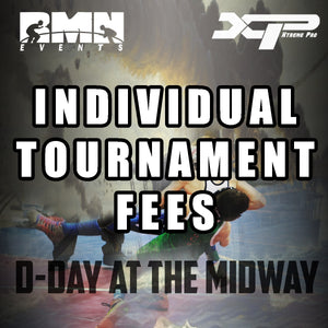 D-Day Individual Tournament Fees Only