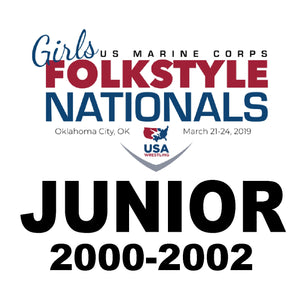 Junior OKC Folkstyle Nationals Travel Fees