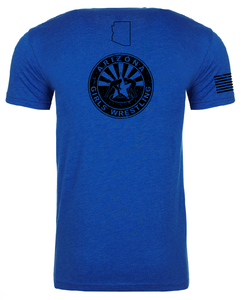 Men's Next Level Tee Royal Stack
