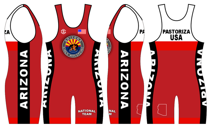 Freestyle Singlets (Red & Blue)