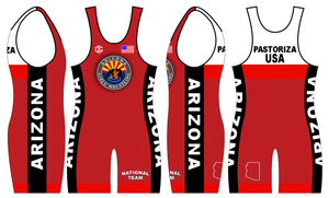 Red Freestyle Singlet ONLY (1 total)
