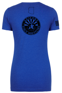 Women's Next Level Tee Royal Stack