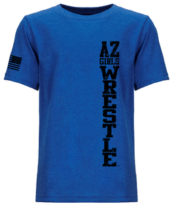 Youth Next Level Tee Royal Stack