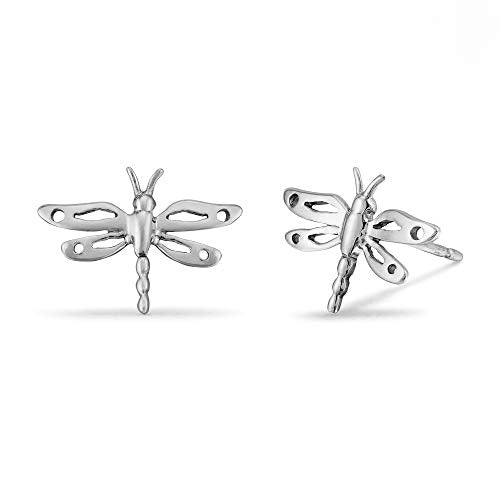 Dragonfly Stud Earrings - Boma Life Sterling Silver